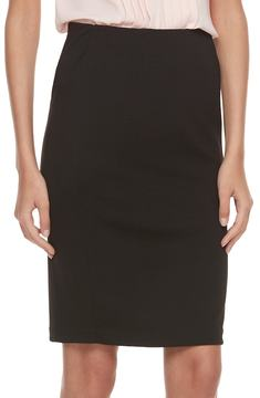 Elle Women's ElleTM Ribbed Pencil Skirt