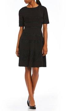 Alex Marie Elisa A-Line Lace Detailed Dress