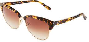 Oscar de la Renta O By Modern Cat-Eye Combo Sunglasses