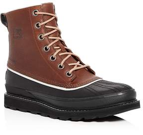 Sorel Men's Madson 1964 Waterproof Leather Cold Weather Boots