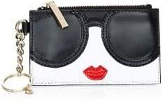 Alice + Olivia Regina Stacey Leather Face Wallet