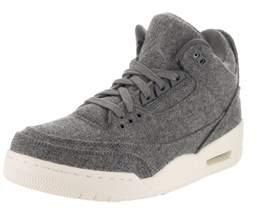 Jordan Nike Men's Air 3 Retro Wool Basketball Shoe.