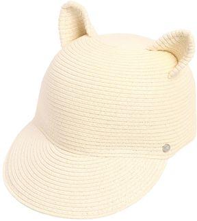 Karl Lagerfeld Choupette Ears Woven Paper Baseball Hat