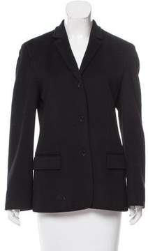 Calvin Klein Collection Wool Notch-Lapel Jacket