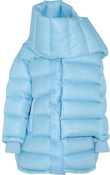 Balenciaga Outerspace Oversized Quilted Shell Jacket - Blue