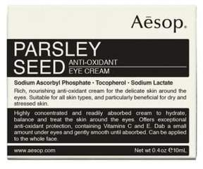 Aesop Parsley Seed Anti-Oxidant Eye Cream/0.4 oz.