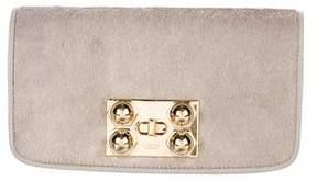 Loewe Ponyhair & Leather Clutch