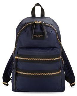 Marc Jacobs Nylon Backpack - BLACK - STYLE