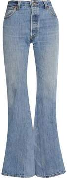 Levi's Re/Done By Faded High-Rise Flared Jeans