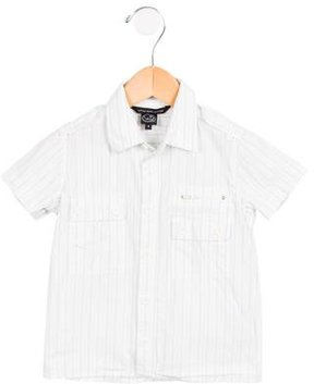 Little Marc Jacobs Boys' Striped Collared Shirt