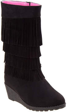 KensieGirl Girls' Fringe Boot