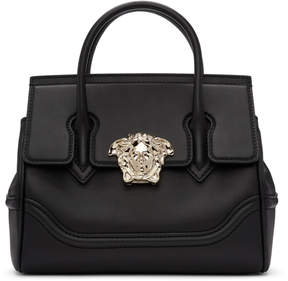 Versace Black and Gold Medium Empire Bag