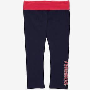 Nautica Little Girls' Logo Yoga Pants (2T-7)