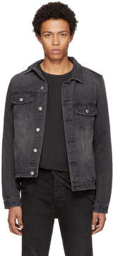 Ksubi Black Classic Denim Jacket