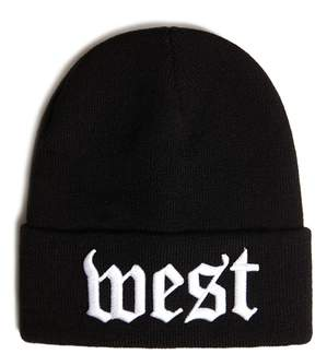 21men 21 MEN Men Ribbed West Beanie
