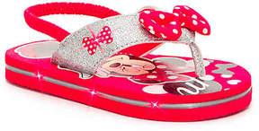 Disney Girls Minnie Mouse Girls Toddler Light-Up Sandal