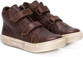 Pépé shearling-lined double strap ankle boots