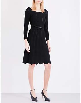 Claudie Pierlot Mary open-knit dress
