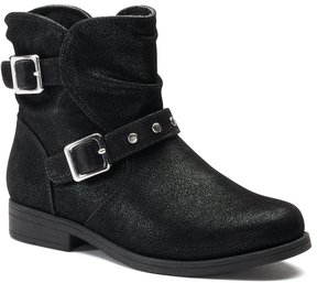 Rachel Princeton Girls' Slouch Ankle Boots