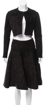 Alaia Fit and Flare Skirt Suit