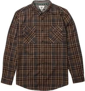 VISSLA Woodhaven Wool Flannel Shirt