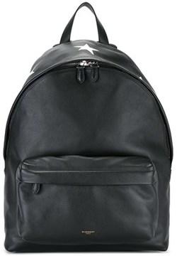 Givenchy Men's Black Leather Backpack.