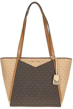 Michael Kors Whitney Small Signature Logo Tote - ONE COLOR - STYLE