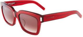 Saint Laurent Bold 1 Square Sunglasses