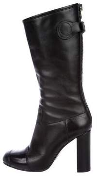 Acne Studios Leather Mid-Calf Boots