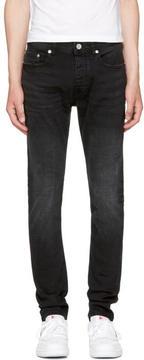 Diesel Black Gold Black Skinny Jeans