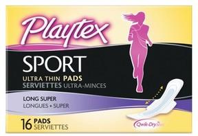 Playtex Sport Ultra Thin Pads, Long 16ct