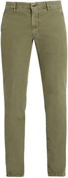 Incotex Slim-leg cotton-blend twill trousers