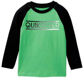Quiksilver Filler Raglan Tee (Toddler Boys)