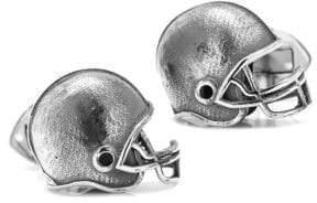 Cufflinks Inc. Cufflinks, Inc. Ox & Bull Trading Co. Sterling Silver Football Helmet Cuff Links