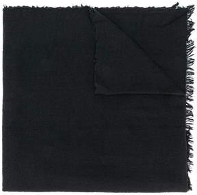 Rick Owens fringed trim scarf