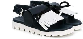 Marni fringed sandals