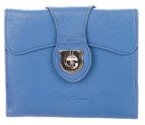 Salvatore Ferragamo Textured Leather Wallet