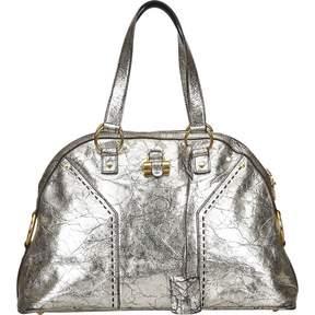 Saint Laurent Muse leather handbag - SILVER - STYLE