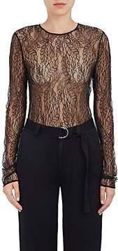 A.L.C. Women's Lace Long-Sleeve Bodysuit