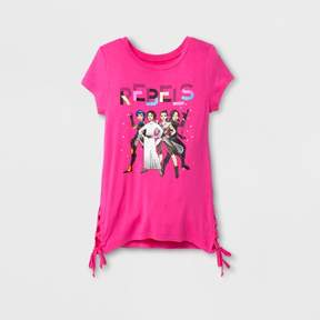 Star Wars Girls' Forces Of Destiny Side Tie Top - Fuchsia