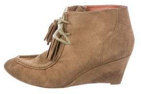 Rebecca Minkoff Suede Wedged Booties