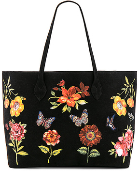 Lauren Moshi Jackie Luxury Tote in Black.