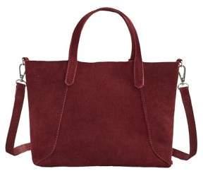 MANGO Julia Suede Mini Shopper