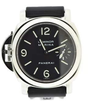 Panerai Luminor Marina PAM22 Stainless Steel & Rubber Manual 44mm Mens Watch