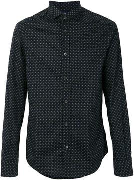 Armani Jeans polka dot print shirt