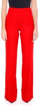 Edward Achour Wool Crepe Trousers
