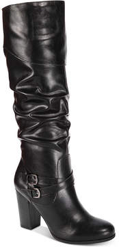 Style&Co. Style & Co Sophiie Ruched Dress Boots, Created for Macy's Women's Shoes