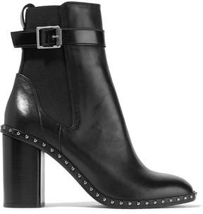 Rag & Bone Romi Studded Leather Ankle Boots - Black
