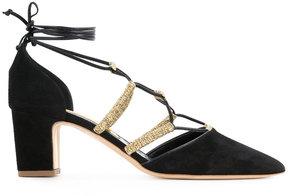 Rupert Sanderson lace-up pumps