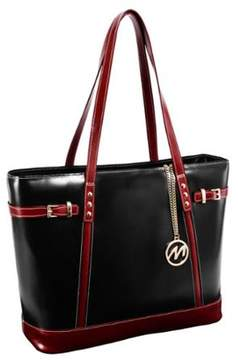 McKlein McKleinUSA USA Black Serafina Fashion Tablet Tote Bag